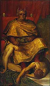 George Frederic Watts (1817-1904), Mammon (1884-85), oil on canvas, Tate Collections.