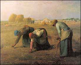 Jean Franois Millet (1814-1875), The Gleaners (1857), 84x111 cm, Muse d'Orsay, Paris. 