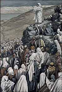 Tissot, Jesus Preaches the Sermon on the Mount