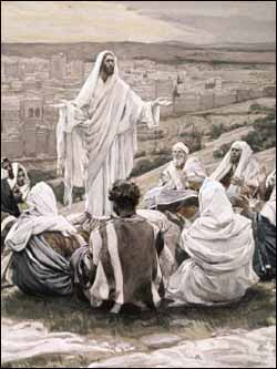 James J. Tissot, 'The Lord's Prayer' (1886-1894), gouache on gray wove paper, 8.5x6.4 in, The Brooklyn Museum, New York.