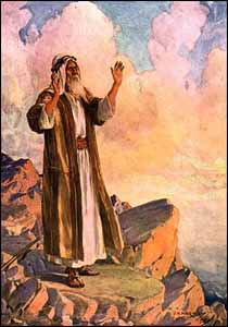 a brief analysis of moses of a chosen leader Moses grows up to be a leader and flees to midian to escape execution, where he marries zipporah the lord appears to moses at horeb, the mountain of god, in a burning bush and appoints him to lead his people from egypt into a land flowing with milk and honey.