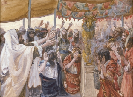 6 The Golden Calf And Moses Intercession Exodus 32 34 Moses