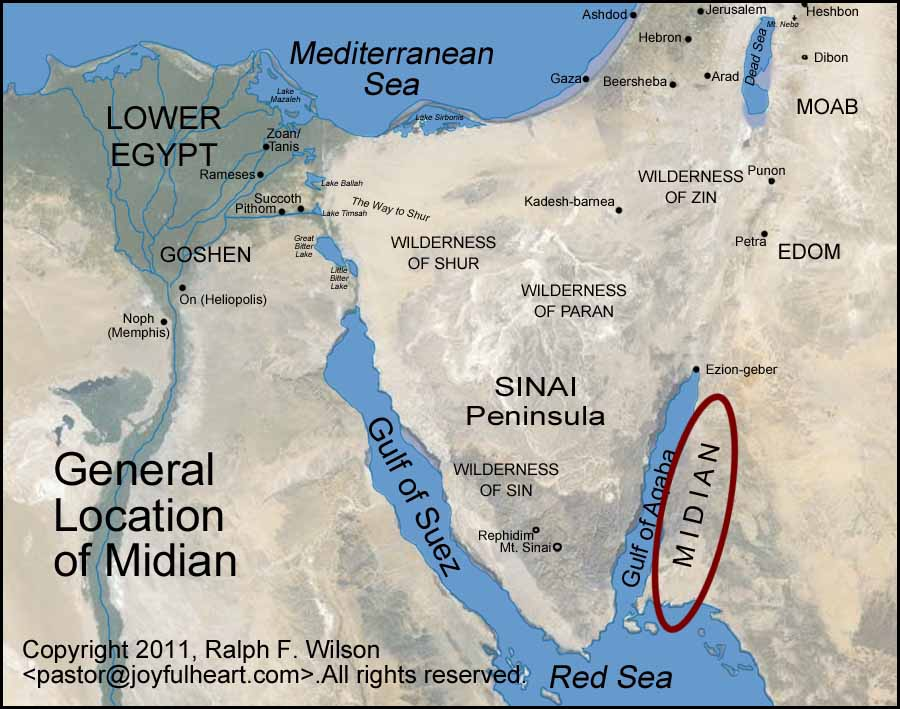 Graphics And Maps Of The Exodus And Tabernacle Moses Bible Study - Map of egypt goshen