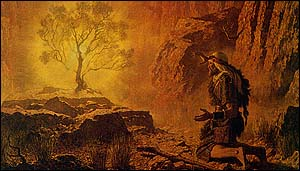 ArnoldFriberg, Moses and the Burning Bush (1957)