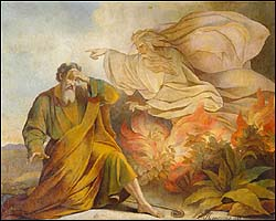 E. Plouchard, God Appears to Moses in the Burning Bush, St. Petersburg
