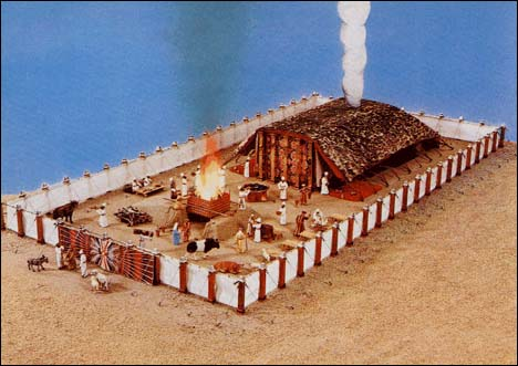 Model of the Tabernacle in the Wilderness