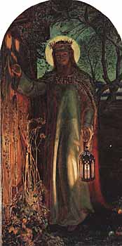 William Holman Hunt, 'Light of the World' (1851), Manchester Art Gallery
