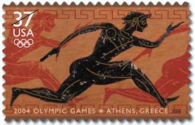 2004 Olympic Games 37 cent stamp