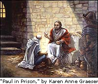 Paul in Prison, by Karen Anne Graeser