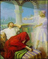 Dream in which St. Paul received the Macedonian call