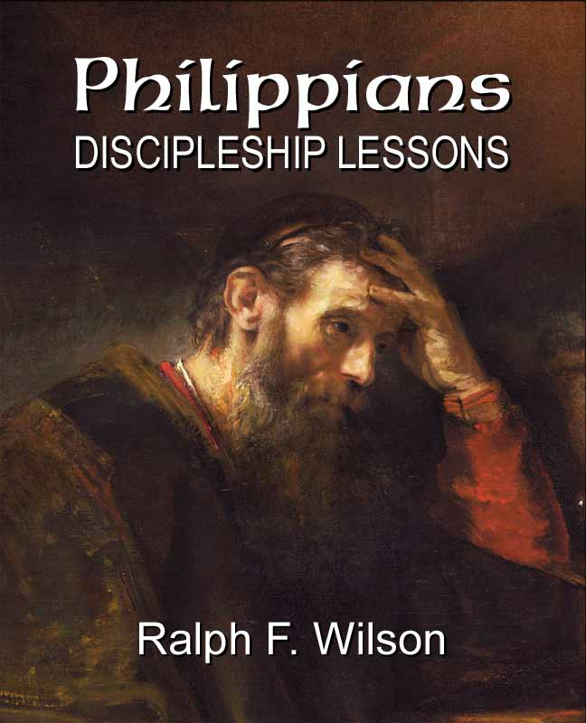 Philippians: Discipleship Lessons (frontcover)