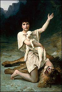 Elizabeth Jane Gardner, The Shepherd David (ca. 1895)
