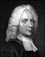Isaac Watts (1671-1748) engraving by R. Newton J. Thurston
