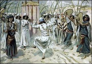 James J. Tissot, David Dancing before the Ark