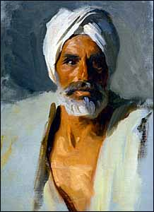 Here�s my mental image of what Nehemiah must have looked like. John Singer Sargent, �Head of an Arab� (1891), oil on canvas, 31.5 x 23.12 inches, Museum of Fine Arts, Boston.