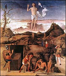Giovanni Bellini, Resurrection of Christ (1475-79)