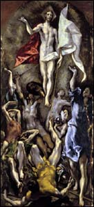 El Greco, The Resurrection (1596-1600)