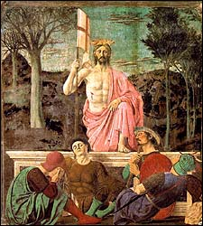 Piero della Francesca, Resurrection (1463-65)