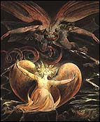 William Blake, The Red Dragon and the Woman Clothed with the Sun