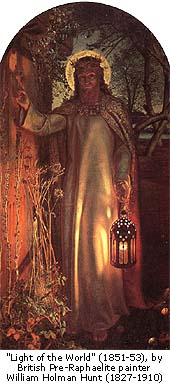 Wm Holman Hunt, Light of the World (1851-1853)