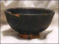 Xenonware Footed Bowl, Greek, south Italy, ca. late 4th Century BC