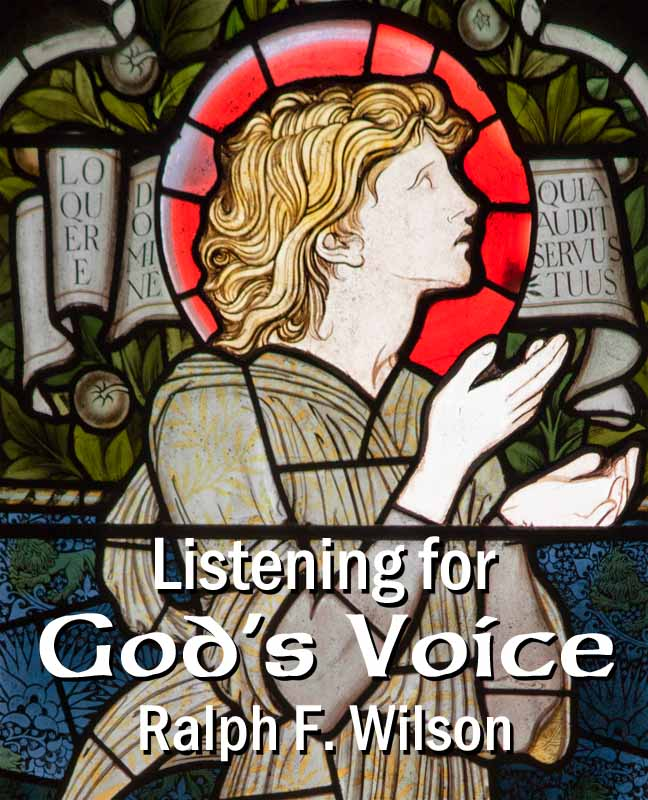 Listening for God's Voice: A Disciple's Guide to a Closer Walk (front cover)